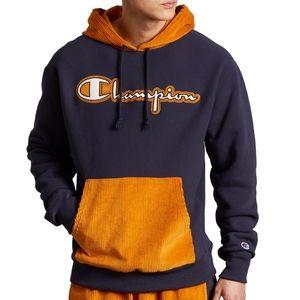 NWT Champion reverse weave corduroy hoodie